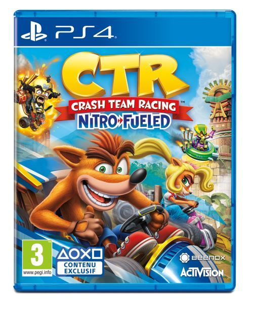 Crash Team Racing Nitro-Fueled PS4 PKG