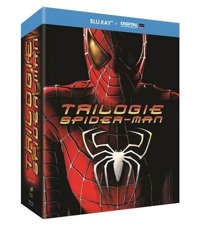 Coffret Trilogie Spiderman 2002 2004 2007 BluRay Remux True French ISO BDR25 MPEG-4 AVC Dolby Digital FreexOptique