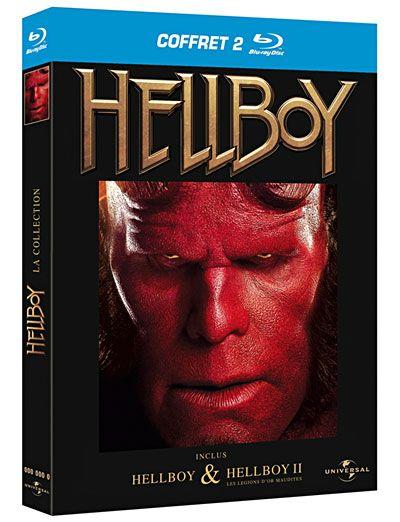 Coffret Hellboy 2004 2008 Full BluRay Multi True French ISO 2xBDR50 MPEG-4 AVC Dolby Digital FreexOptique