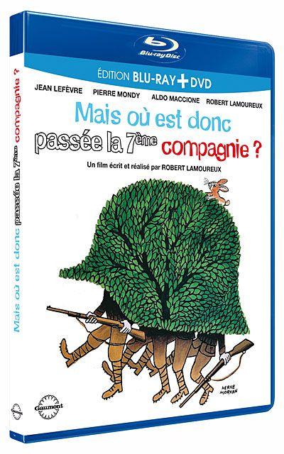 Mais ou est Donc Passé la 7eme Compagnie 1973 Full BluRay True French ISO BDR25 MPEG-4 AVC DTS HD Master FreexOptique