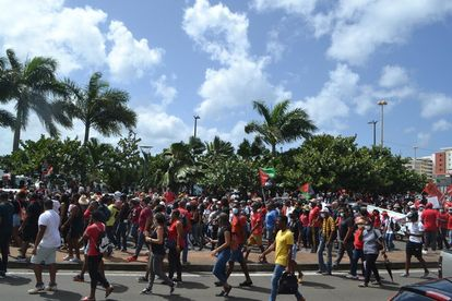 chlordecone, martinique, milliers, manifestants, reclament