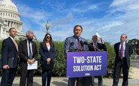 Progressive Dems introduce bill they say aims at keeping 2-state solution alive