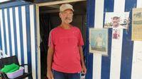 El hamaquero que lleva más de medio siglo en la misma caseta de Las Palmas