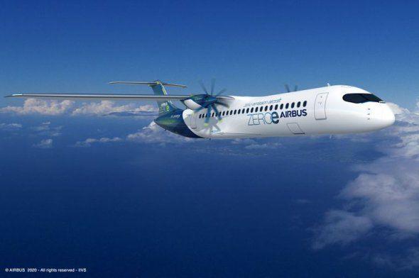 Третій концепт водневого лайнера від Airbus
