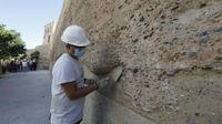 El Ayuntamiento de Sevilla iniciará la próxima semana las obras de conservación del Arco de la Macarena