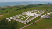 Un nuevo monumento en honor a las víctimas del Desembarco de Normandía