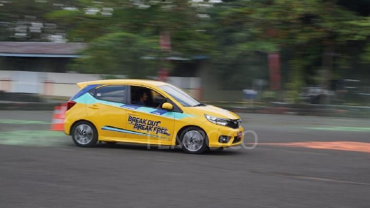 All New Honda Brio Satya, Sentul Circuit, March 20, 2019. TEMPO / Wawan Priyanto.