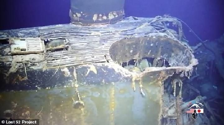 Researchers have found a World War II submarine resting place 3,350 meters below sea level. Named Stickleback, the ship sank on May 28, 1958 off the coast of Barbers Point, Oahu. Credit: @Lost 52 Project