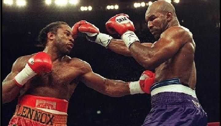 Lennox Lewis Vs. Evander Holyfield, March 13, 1999. (Youtube)