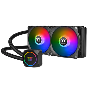 THERMALTAKE TH240 ARGB SYNC 240 MM (120 X 2) *ชุดน้ำปิด