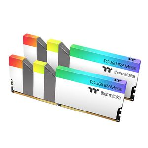 THERMALTAKE TOUGHRAM RGB DDR4 3600MHZ 16GB (8GB X 2) WHITE *แรม