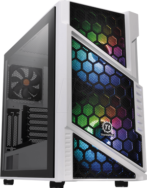 THERMALTAKE COMMANDER C31 ARGB TEMPERED GLASS - SNOW EDITION *เคส