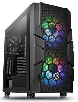 THERMALTAKE COMMANDER C33 ARGB TEMPERED GLASS *เคส