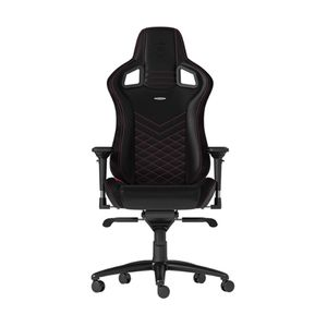 NOBLECHAIRS EPIC PU LEATHER GAMING CHAIR - BLACK I PINK *เก้าอี้เกมมิ่ง