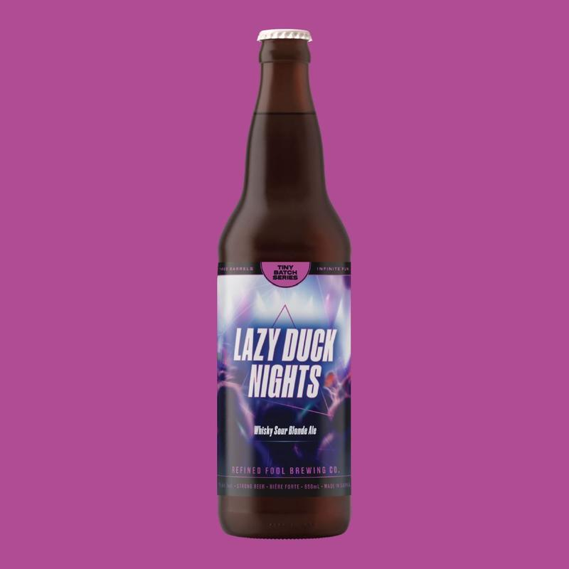 Lazy duck nights - whisky sour blonde ale