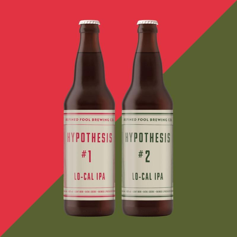 Hypothesis #1 and #2 - lo-cal ipa