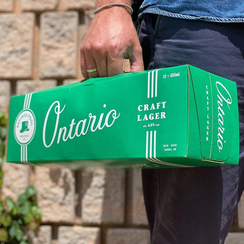 Ontario craft lager 12 pack
