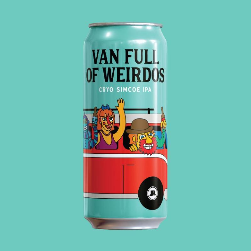 Van full of weirdos - cryo simcoe ipa