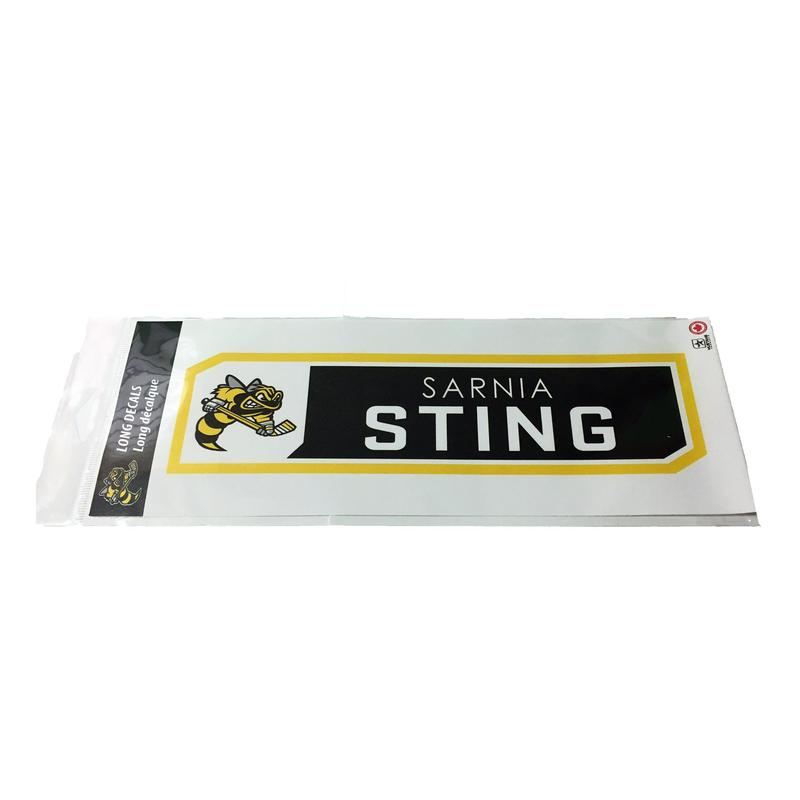 4 x 12 sarnia sting bumper sticker