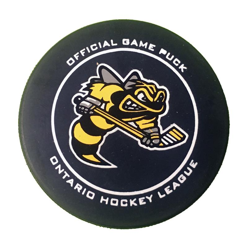 Official sarnia sting game puck