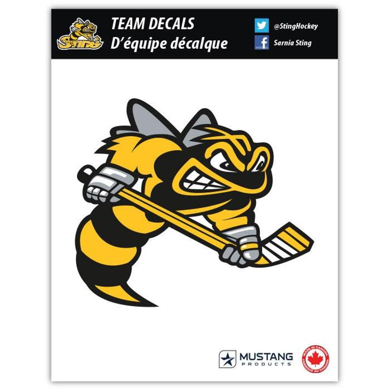 Sarnia sting primary logo decal