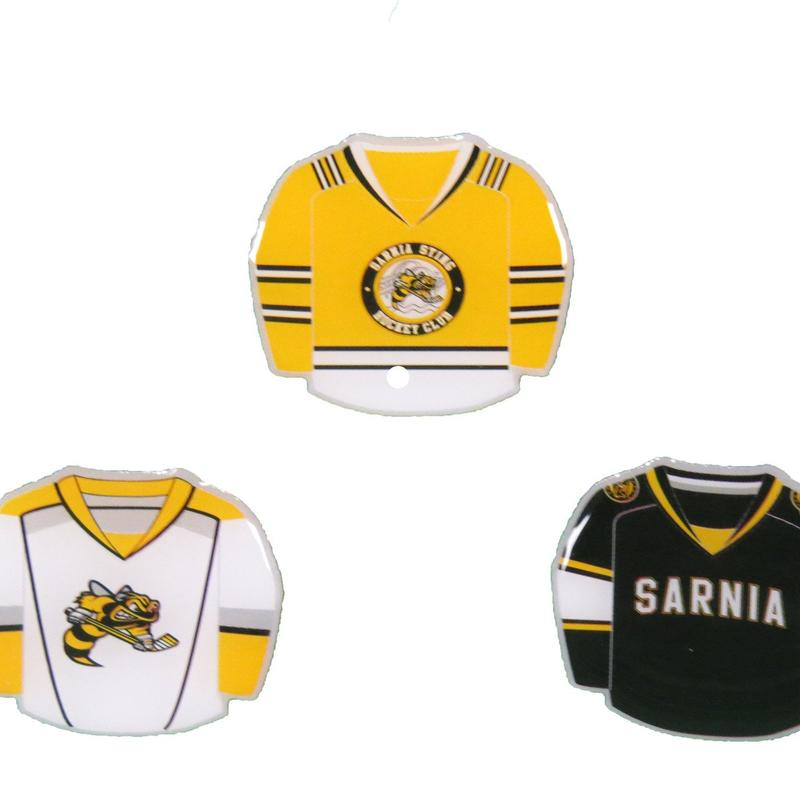 Sarnia sting collectible jersey pin