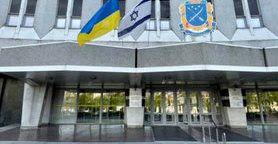 """Мер Дніпра Філатов вивісив прапор Ізраїлю над міськрадою: Не на підтримку """"однієї зі сторін"""", а за близьких, які змушені сидіти у бомбосховищах"""