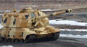"""РФ продемонструвала спільну роботу модернізованої гаубиці """"Мста-С"""" із безпілотником """"Орлан-10Е"""""""