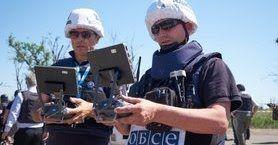 """Спецмісія ОБСЄ за вихідні зафіксувала 1365 порушень """"тиші"""" на Донбасі, від початку перемир'я - понад 28,4 тис."""