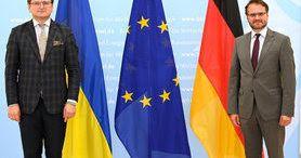 """Кулеба після переговорів у Німеччині про """"Північний потік-2"""": """"Ніщо остаточно не погоджено"""""""