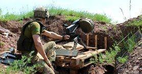 Invaders violate ceasefire in eastern Ukraine five times
