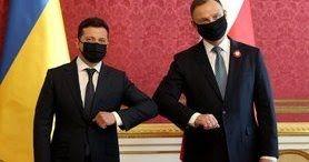 Дуда і Зеленський підписали спільну декларацію про європейську перспективу для України