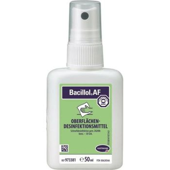 Bacillol® Ταχεία Απολύμανση και Καθαρισμός επιφανειών χάρη στην αλκοόλη 50ml