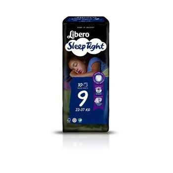 Πάνες Libero SleepTight Νο9 (22-37kg)10τεμ