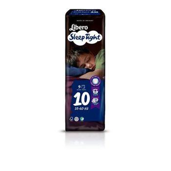 Πάνες Libero SleepTight Νο10 (35-60kg) 9 τεμ