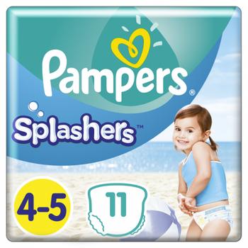 Pampers Πάνες Splashers (11τεμ) Μεγεθος 4-5 (9-15kg)