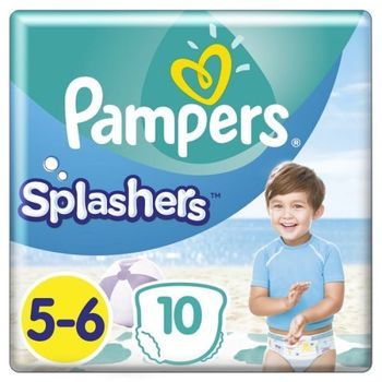 Pampers Πάνες Splashers (10τεμ) Μεγεθος 5-6 (14+kg)