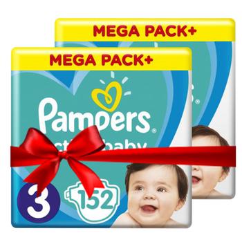 Πάνες Pampers Active Baby Mega Box Νο3 (6-10kg) 304τεμ ( 2×152τεμ)