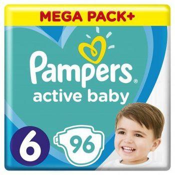 Πάνες Pampers Active Baby Mega Box Νο6 (13-18kg) 96τεμ