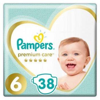 Πάνες Pampers Premium Jumbo Pack Νο 6 (13+kg) 38τεμ