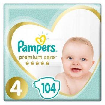Πάνες Pampers Premium Care Mega Box Νο4 (9-14kg) 104τεμ