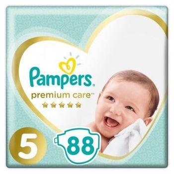 Πάνες Pampers Premium Care Mega Box Νο5 (11-16kg) 88τεμ