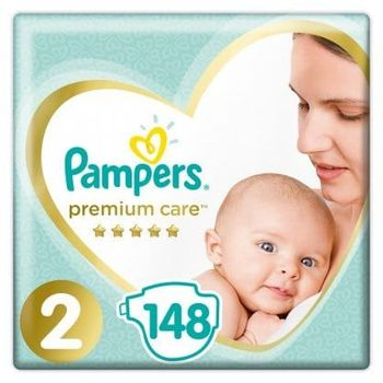 Πάνες Pampers Premium Mega Pack Νο 2 (4-8kg) 148τεμ