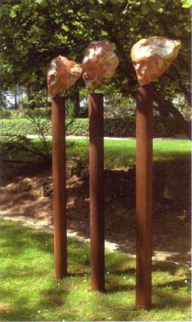 Bataille Sculpture - Cotignac