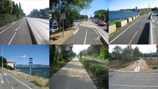 Parcours cyclable du littoral - V65 - détour : Gassin village à Saint-Tropez