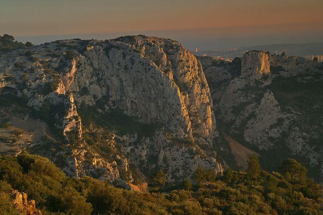 Evenos - parc naturel régional de la Sainte-Baume - côté TPM