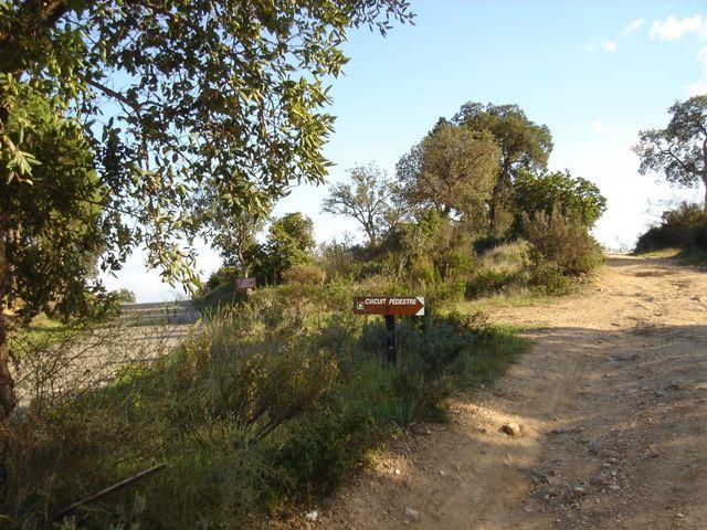 Sentier barrage du trapan