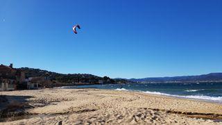 Spot de kitesurf et de planche à voile de la Bouillabaisse