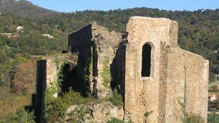 Ruines de l'ancienne église St Pons