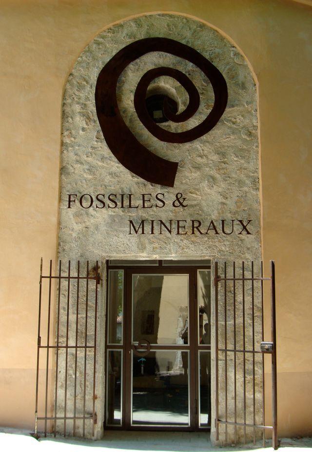 Musée des fossiles & minéraux